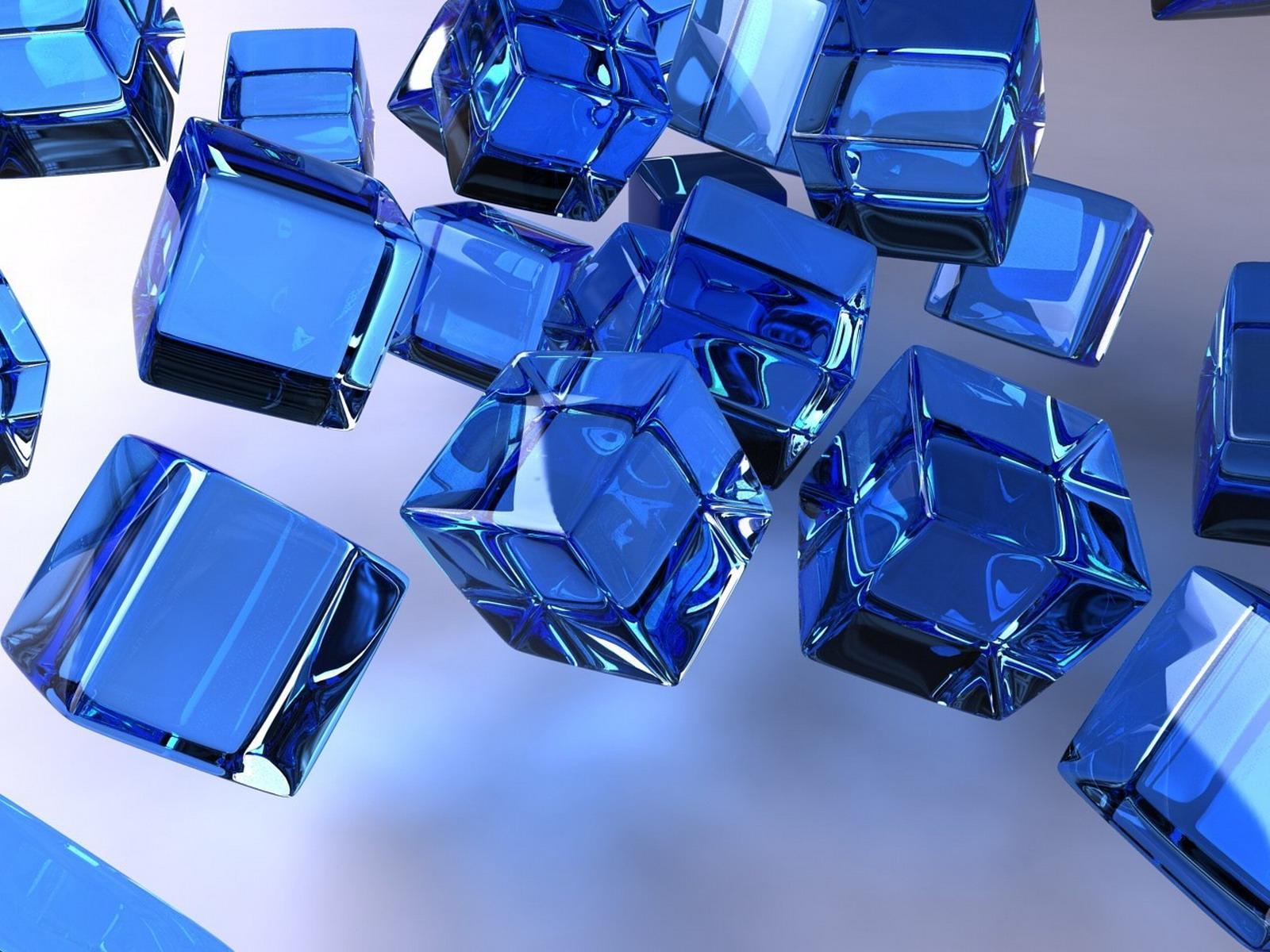 3D Blue Desktop Backgrounds