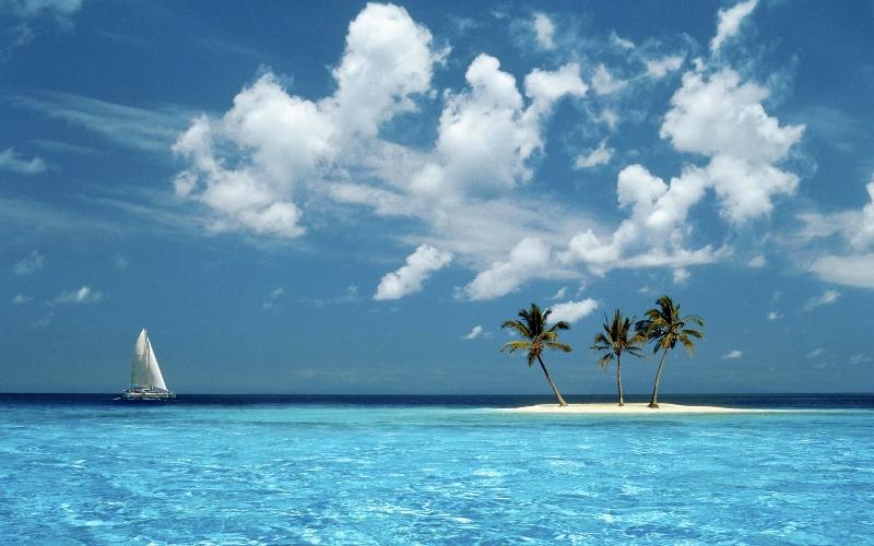 Sfondi tropicali sfondissimo sfondi screensaver gratis for Foto per desktop gratis mare