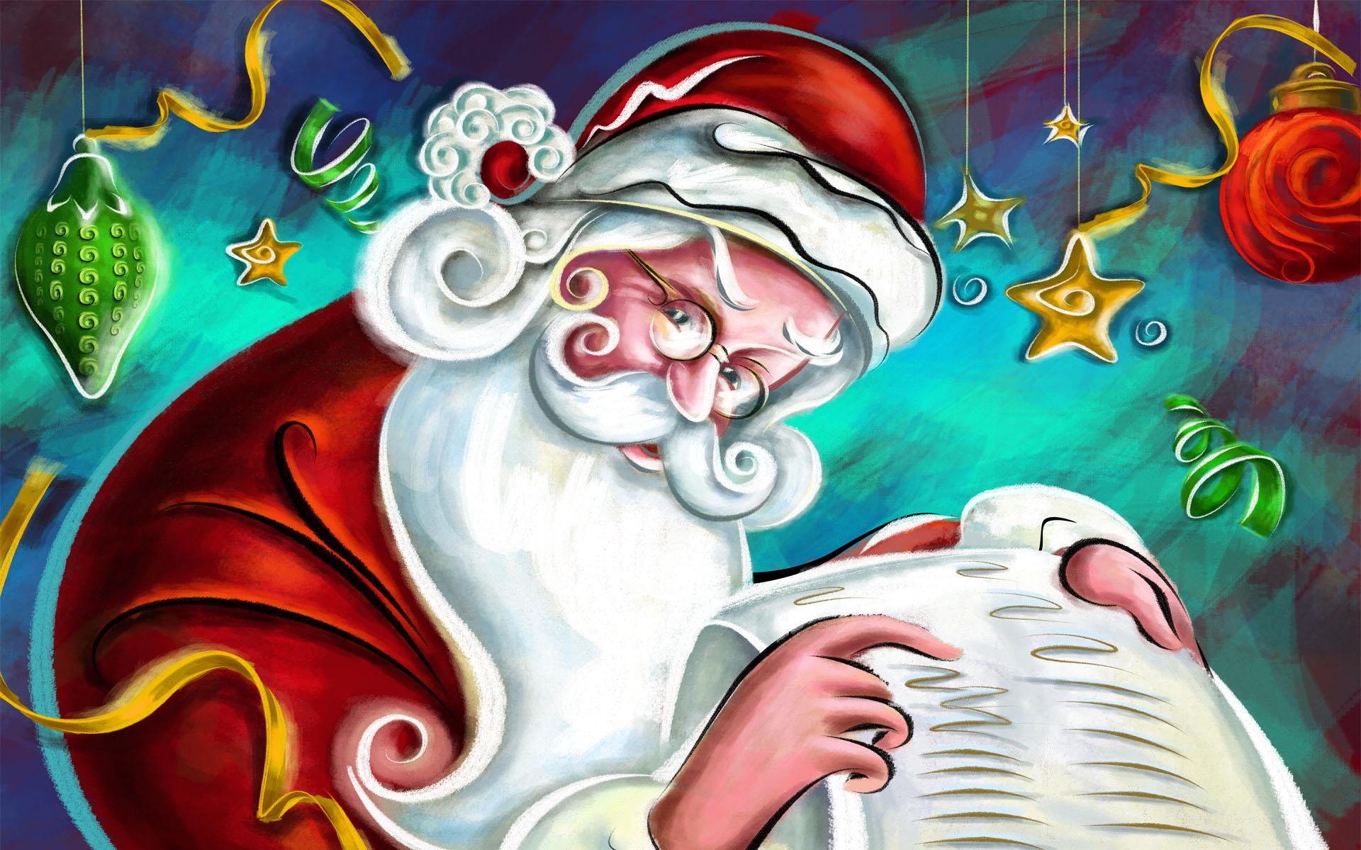 Sfondi Babbo Natale.Sfondi Natalizi Sfondissimo Sfondi Screensaver Gratis
